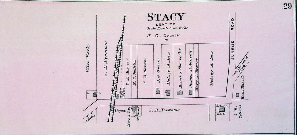 1888 Foote Plat - Stacy