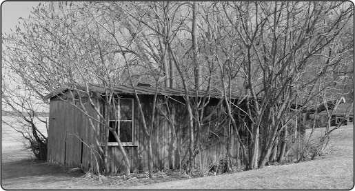 Remnants Old Mill bw